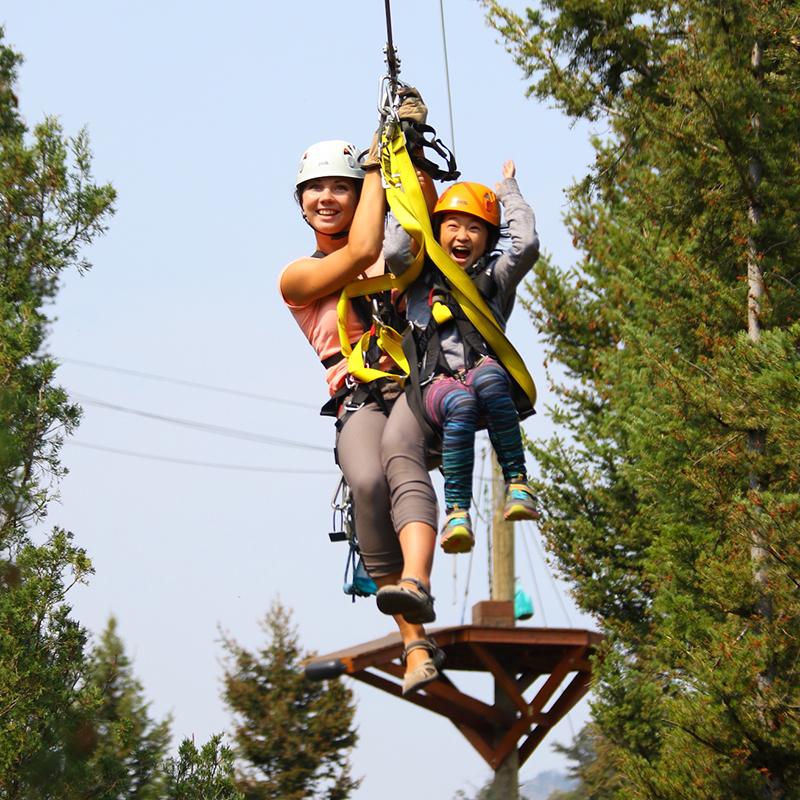 Yellowstone Zipline Eco Tour Gardiner Montana